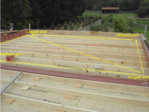 Zelf plat dak maken