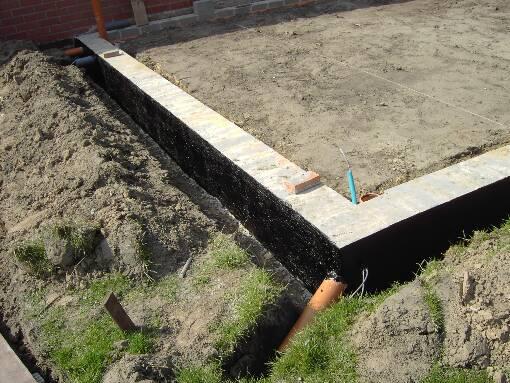 bouwen tegen garagemuur buren