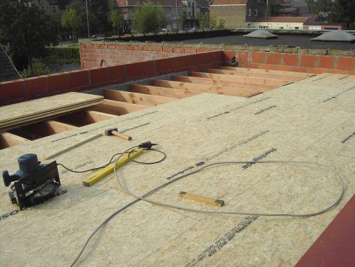 Plat dak aanleggen