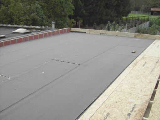 Maken van een plat dak met roofing u2013 doehetbeterzelf