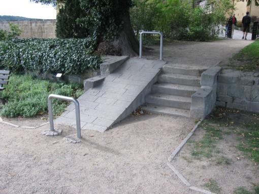 Voorziening voor rolstoelgebruikers ?