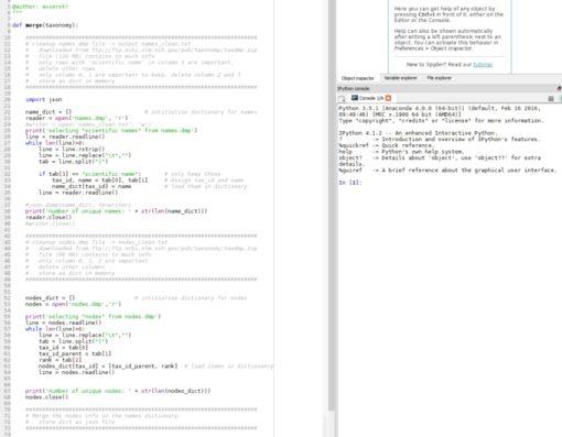 Omdat er telkens een foto bij mijn post staan, hier een screenshot van een van de scripts die ik gemaakt heb.  Vrees niet, deze blog gaat geen programmeer blog worden, daar bestaan andere sites voor.