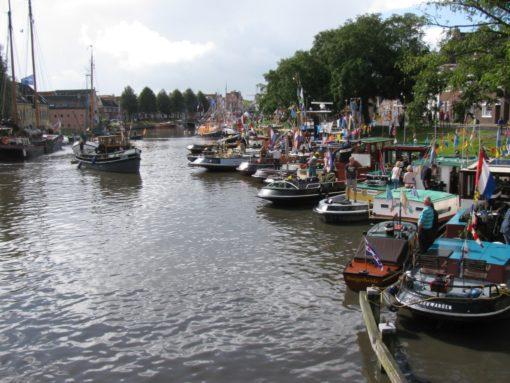 Ook veel bootjes gezien